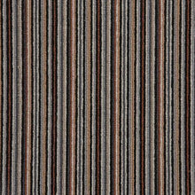 Load image into Gallery viewer, Copper Black Natural Wool Stripe Carpet