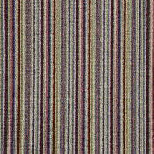 Load image into Gallery viewer, Lime Red Natural Wool Stripe Carpet