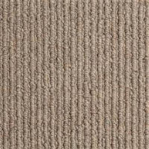 Taupe textured Loop lined 100% Natural Wool Carpet