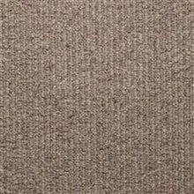 Load image into Gallery viewer, Grey textured Loop lined 100% Natural Wool Carpet