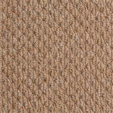 Load image into Gallery viewer, Brown textured Loop lined 100% Natural Wool Carpet