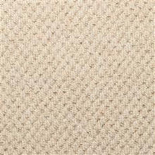 Load image into Gallery viewer, Cream textured Loop lined 100% Natural Wool Carpet