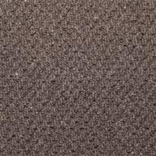 Load image into Gallery viewer, Anthracite textured Loop lined 100% Natural Wool Carpet