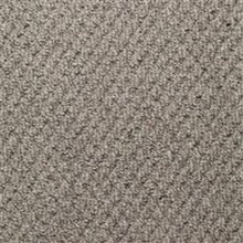 Load image into Gallery viewer, Silver textured Loop lined 100% Natural Wool Carpet