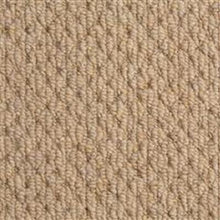 Load image into Gallery viewer, Light Brown textured Loop lined 100% Natural Wool Carpet