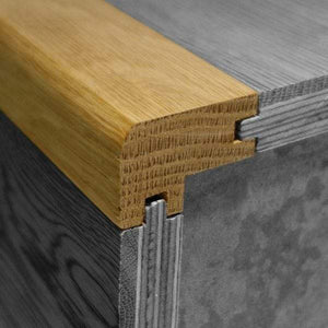 Oak Stair Nosing - Flush Fit