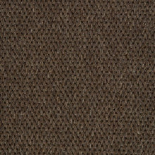 Load image into Gallery viewer, Dark Brown Woven Loop Pile 100% Wool Carpet