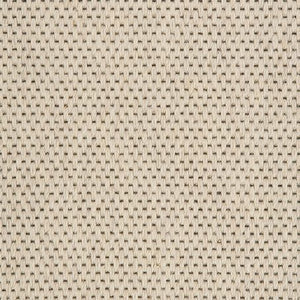 Cream Woven Loop Pile 100% Wool Carpet