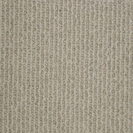 Brown Linear Effect Natural Luxury 100% Wool Carpet