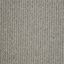 Load image into Gallery viewer, Silver Pearl Linear Effect Natural Luxury 100% Wool Carpet