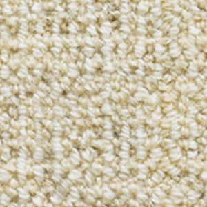 Chalk Loop textured Rustic Look Wool Carpet