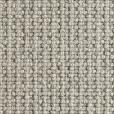 Ash Grey Textured Natural Chunky Loop Wool Carpet