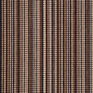 Black Coffee Natural Stripe Luxury 100% Wool Carpet