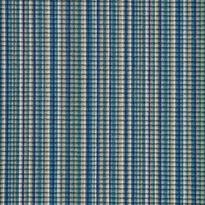 Blue Water Natural Stripe Luxury 100% Wool Carpet