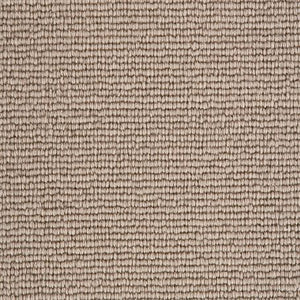 Caramel Light Brown Natural 100% Wool Loop Carpet