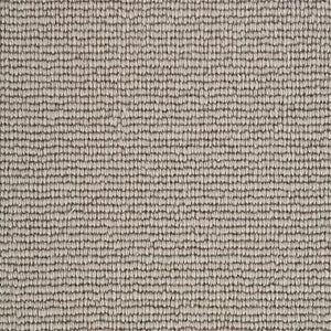 Stone Grey Natural 100% Wool Loop Carpet