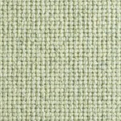 LIght Green textured Natural Chunky Loop Wool Carpet
