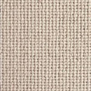 Beige textured Natural Chunky Loop Wool Carpet