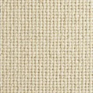 Cream textured Natural Chunky Loop Wool Carpet