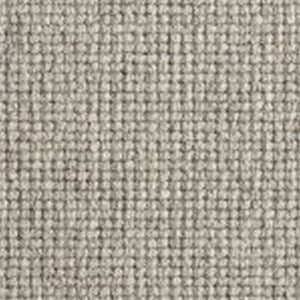 Grey textured Natural Chunky Loop Wool Carpet