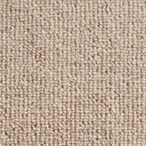 Cream textured natural Heathered small Loop Wool Carpet
