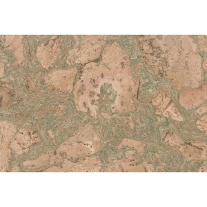 Tradition - Twist Green - Cork Tile