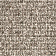 Load image into Gallery viewer, Brown textured Natural 100% Wool Loop Carpet