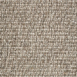 Brown textured Natural 100% Wool Loop Carpet
