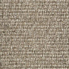 Load image into Gallery viewer, Dark Brown textured Natural 100% Wool Loop Carpet