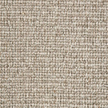 Load image into Gallery viewer, Light Brown textured Natural 100% Wool Loop Carpet