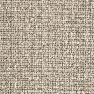 Light Brown textured Natural 100% Wool Loop Carpet