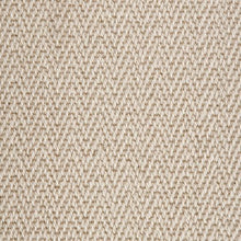 Load image into Gallery viewer, Chalk Fawn Luxury Chevron style 100% Wool Carpet