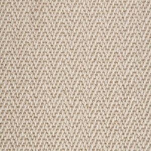 Chalk Fawn Luxury Chevron style 100% Wool Carpet