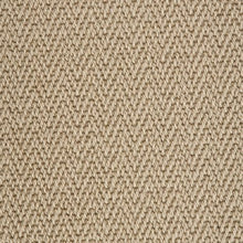 Load image into Gallery viewer, Lichen Brown Luxury Chevron style 100% Wool Carpet