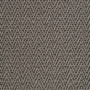 Slate Grey Luxury Chevron style 100% Wool Carpet