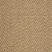 Load image into Gallery viewer, Stone Brown Luxury Chevron style 100% Wool Carpet