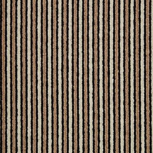 Beach Hut Stripe - Worthing - Wool Carpet