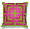 Spencer Pillow - Fuschia/Green