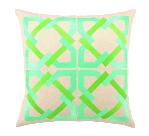 Andre Pillow - Blue/Green