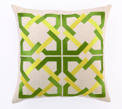Andre Pillow - Green/Yellow