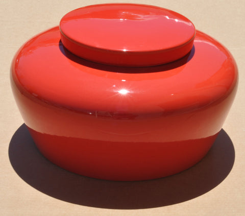 Courtesan Urn - Red