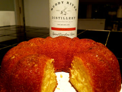 Spiced Carolina Rum Cake - Muddy River Distillery