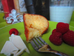 White Chocolate Raspberry Rum Cake