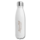 DessertLife Insulated Stainless Steel Water Bottle - white