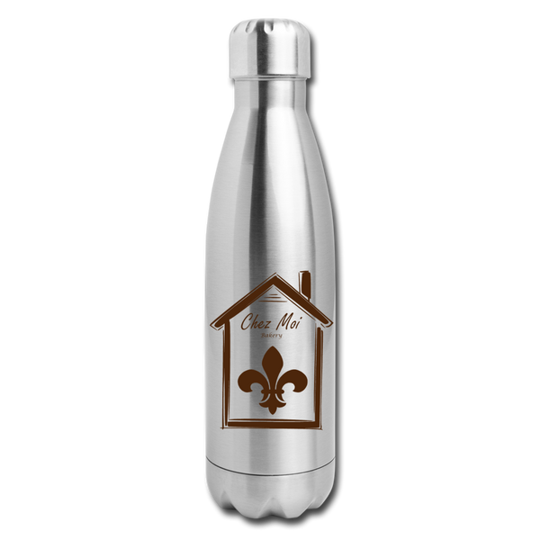 DessertLife Insulated Stainless Steel Water Bottle - silver