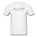 DessertLife #NoSharingRequired T-Shirt - white