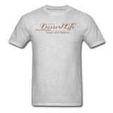 DessertLife #NoSharingRequired T-Shirt - heather gray