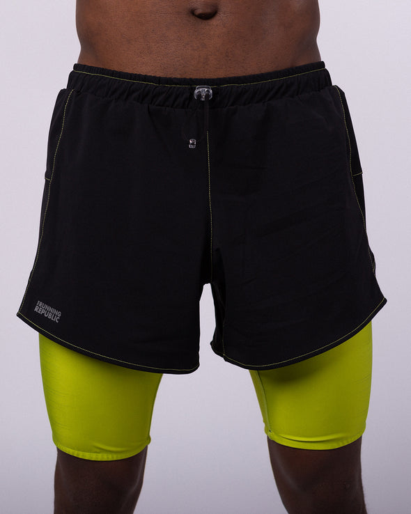 Men's 2in1 Woven short 2.0