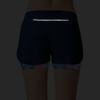 Women's 2in1 Woven short 2.0