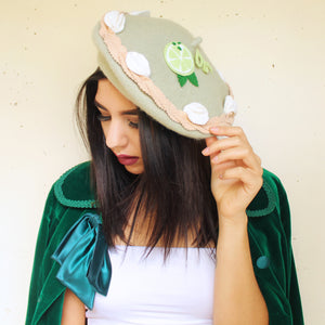 Key Lime Pie Beret